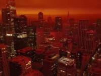 Apokaliptyczno-marsjańska sceneria San Francisco