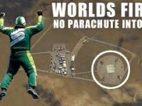 Skok bez spadochronu z wysokości 7620 metrów o siatki
