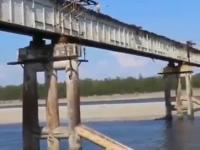 Przejazd przez most, level Rosja