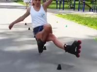 jazda na rolkach