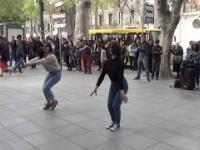 Taniec gruziński w Tibilisi