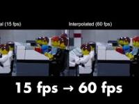 Z 15 fps do 60 fps dzięki interpolacji klatek opartej na sieci neuronowej