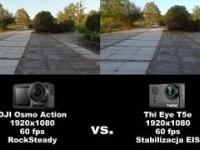 DJI Osmo Action vs. ThiEye T5e - sporównanie stabilizacji