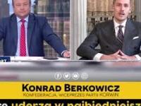 Konrad Berkowicz w TvPIS wymienia kolejne podatki, które chce wprowadzić rząd PiS redaktor przerywa