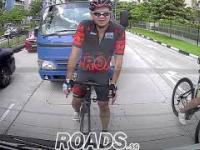 Instant Karma. Agresywny rowerzysta... całkowicie zapomina o kulturze