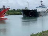 Zderzenie dwóch statków na Kanale Wellandzkim