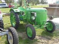 Zabytkowe traktory - Uniejów, Dożynki 2020
