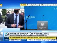 Andrzej Duda wygwizdany przez studentów na Uniwersytecie Warszawskim