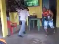 Taneczny pojedynek w pubie