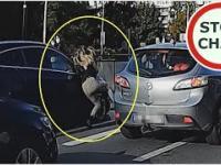Nieudana przesiadka do tramwaju - potrącenie - ku przestrodze