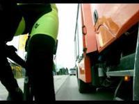 Rowerzysta znowu nie widzi ścieżki
