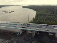Jak miło popatrzeć na prawie ukończony Most Południowy