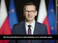 Wystąpienie premiera - tłumaczenie na język polski.