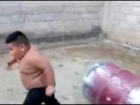 Szkolenie przyszłego Rambo