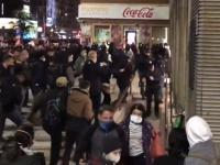 Zamieszki podczas protestów w Warszawie
