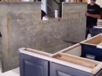 Montaż blatu kuchennego