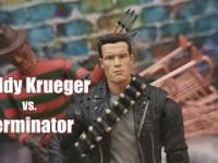 Terminator vs. Freddy Krueger ( Stop Motion )