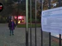 Ławka Niepodległości po renowacji