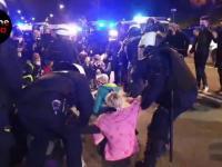 Policyjna pacyfikacja strajku kobiet w Warszawie!