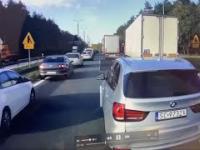 BMW blokuje korytarz życia