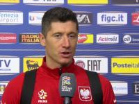 Robert Lewandowski podsumowuje mecz wymowną ciszą
