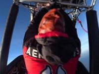 Co się stanie, gdy w balonie na ogrzane powietrze stracisz palnik