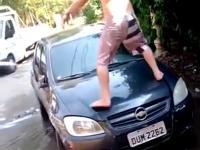 Mycie auta na luziku