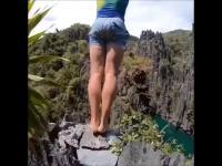 Ekstremalny skoki z klifu