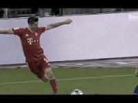Robert Lewandowski i jego niesamowita kontrola nad piłką