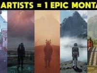 Świetna animacje stworzone przez 125 artystów