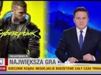 Cyberpunk 2077 w Wydarzeniach Polsat News
