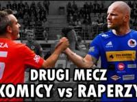 Drugi mecz KOMICY VS RAPERZY | Mecz o psią krew | Skróty | Piłka nożna