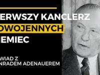 Nieznany wywiad z pierwszym kanclerzem powojennych Niemiec Konradem Adenauerem