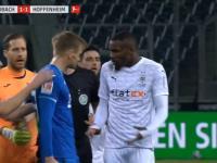 Rasistowskie zachowanie w meczu Bundesligi. Marcus Thuram opluł Stefana Poscha