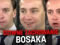 Dziwne zachowanie Krzysztofa Bosaka podczas konferencji
