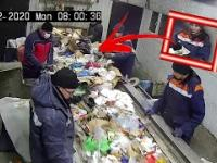 Everyone was shocked by what the man found in the trash and it was.....