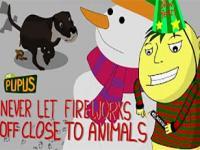 Dlaczego nie należy nigdy odpalać fajerwerków przy zwierzętach!