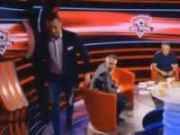 Tomasz Hajto na kacu albo jeszcze pijany w Polsacie Sport - To była inna liga! shorts