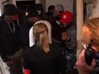 Interwencja policji podczas imprezki w Belgii