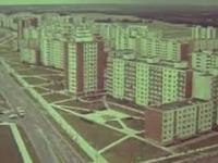 Typowa zabudowa w państwach socjalizmu (Wilno, 1977 rok)