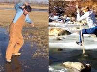 Śmieszne wpadki na lodzie