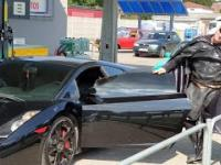 Lamborghini Batman Nowe Miasto Lubawskie movie cars