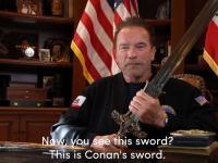 Arnold od serca przemówił do Amerykanów po ataku na Kapitol