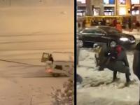 Hiszpania + śnieg = fajna zabawa!