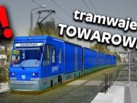 Tramwaj DOSTAWCZAK czy ŚMIECIARKA ?? CarGoTram // Tramwaje towarowe w Polsce i Europie !!