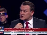 Donald Tusk przesyła hołd po niemiecku na tle Gdańska - to potwarz i perfidia