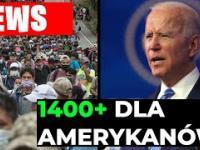 8-9 tysięcy imigrantów z Hondurasu idzie do USA, a Biden rozda każdemu 1400$