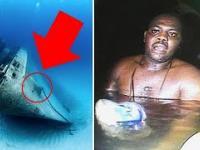 Odnaleźli żywego mężczyznę w statku NA DNIE OCEANU