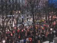 A tak w weekend Austriacy protestowali przeciwko obostrzeniom i restrykcjom