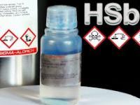 Najmocniejszy kwas na świecie, czyli Fluoroantimonic acid
